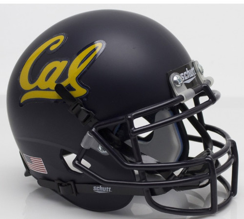 Cal Berkeley Golden Bears Schutt Mini Authentic Football Helmet