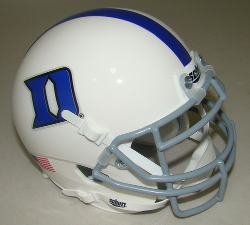 Duke Blue Devils Schutt Mini Authentic Football Helmet