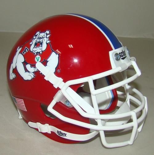 Fresno State Bulldogs Schutt Mini Authentic Football Helmet