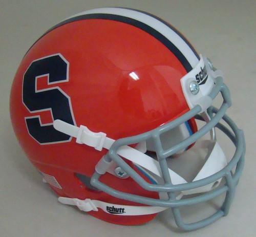 Syracuse Orangemen Schutt Mini Authentic Football Helmet
