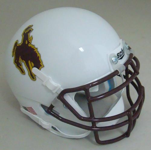 Wyoming Cowboys Schutt Mini Authentic Football Helmet