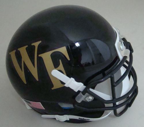 Wake Forest Demon Deacons Schutt Mini Authentic Football Helmet