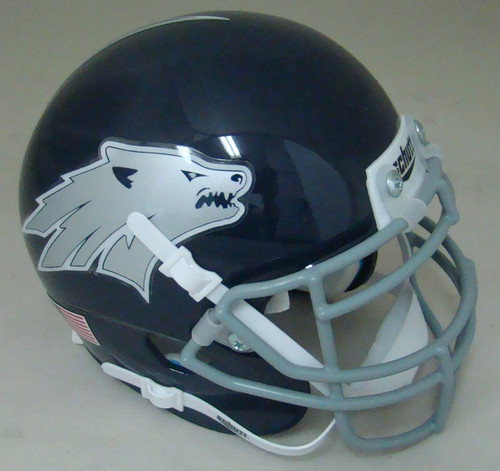 Nevada Wolfpack Schutt Mini Authentic Football Helmet