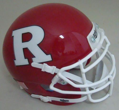 Rutgers Scarlet Knights Schutt Mini Authentic Football Helmet