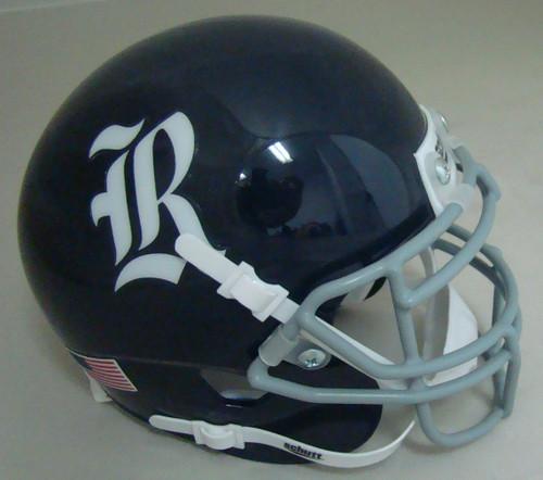 Rice Owls Schutt Mini Authentic Football Helmet