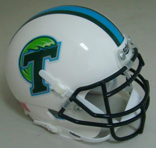 Tulane Green Wave Schutt Mini Authentic Football Helmet