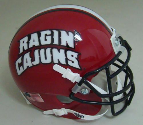 Louisiana-Lafayette Ragin Cajuns Schutt Mini Authentic Football Helmet