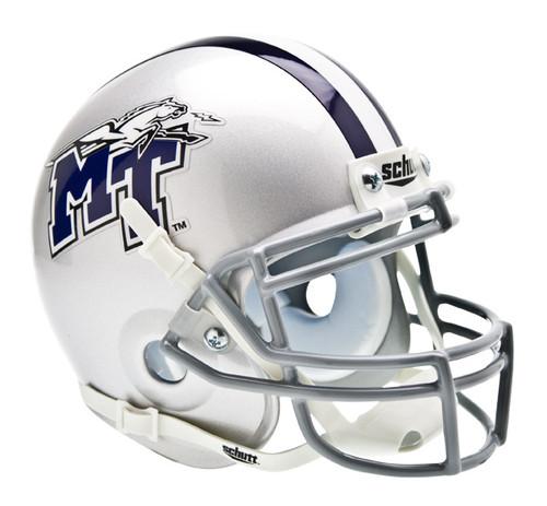 Middle Tennessee State Blue Raiders Schutt Mini Authentic Football Helmet