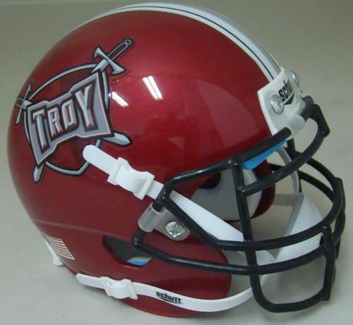 Troy State Trojans Schutt Mini Authentic Football Helmet