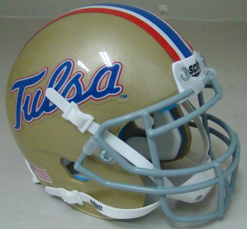 Tulsa Golden Hurricane Schutt Mini Authentic Football Helmet
