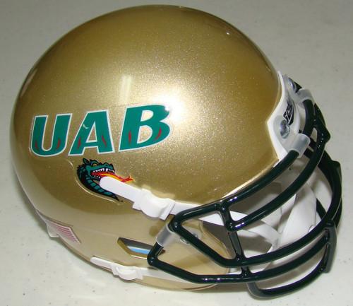 UAB Alabama-Birmingham Blazers Schutt Mini Authentic Football Helmet