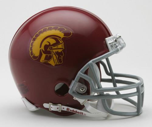 USC Trojans NCAA Riddell Mini Helmet