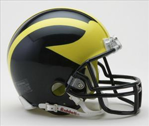 Michigan Wolverines NCAA Riddell Mini Helmet