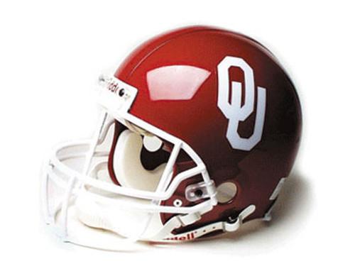 Oklahoma Sooners Riddell Full Size Authentic Proline Helmet