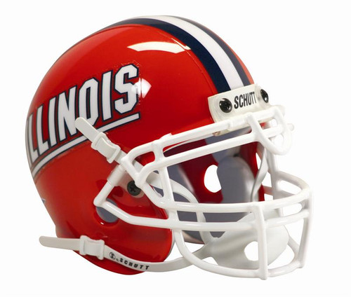 Illinois Fighting IlliniSchutt Full Size Authentic Helmet
