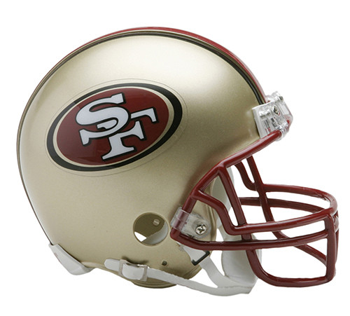 San Francisco 49ers 1996-2008 Riddell Mini Helmet