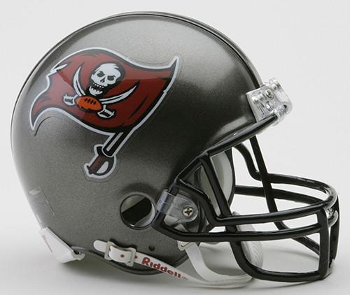 Tampa Bay Buccaneers 1997-2013 Throwback Riddell Mini Helmet