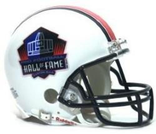 NFL Hall of Fame Riddell Mini Helmet