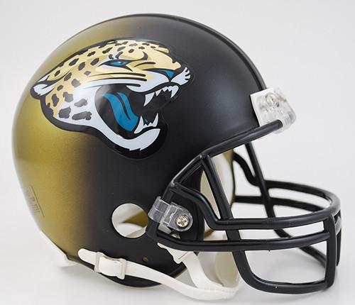 Jacksonville Jaguars Throwback 2013-2017 Riddell Mini Helmet