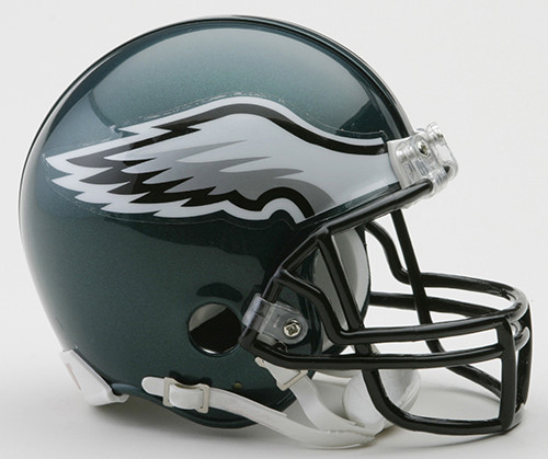 Philadelphia Eagles Riddell Mini Football Helmet