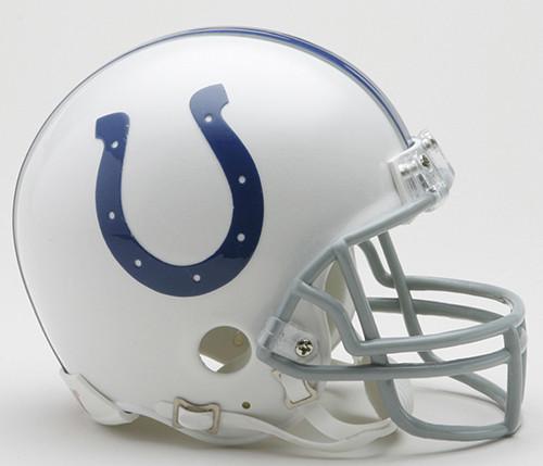 Indianapolis Colts 2004-2019 Throwback Riddell Mini Football Helmet