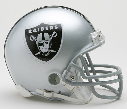 Las Vegas Raiders Riddell Mini Helmet