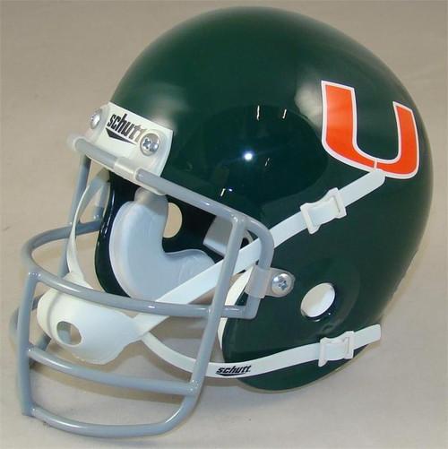 Miami Hurricanes 1972 Schutt Throwback Mini Authentic Helmet