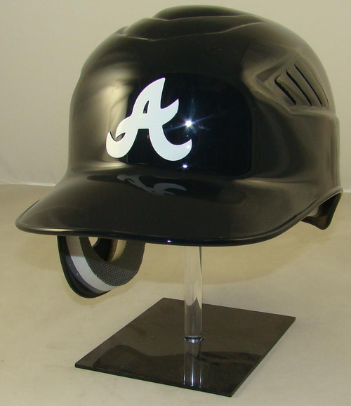 Atlanta Braves Navy Road Rawlings Coolflo REC Full Size Baseball Batting Helmet
