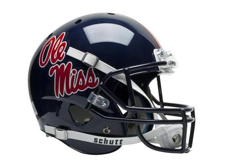 Mississippi (Ole Miss) Rebels Schutt Full Size Replica XP Football Helmet