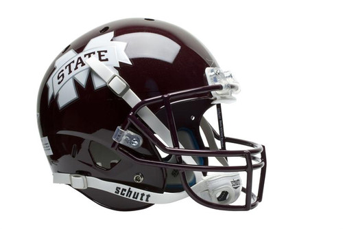 Mississippi State Bulldogs Schutt Full Size Replica XP Football Helmet
