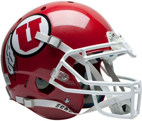 Utah Utes Schutt Full Size Replica XP Football Helmet