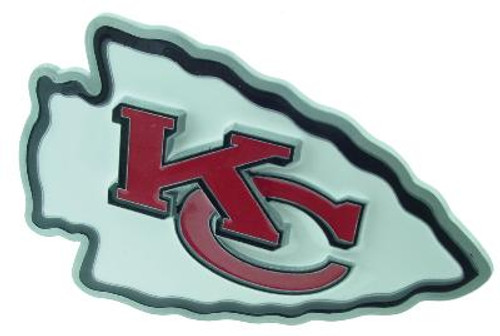 KANSAS CITY CHIEFS LARGE NFL TRUCK TRAILER HITCH COVER