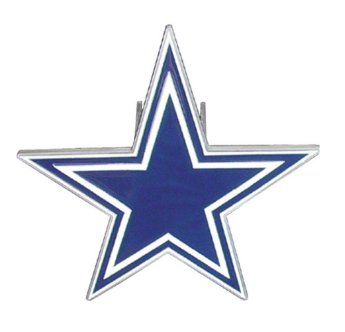 DALLAS COWBOYS LARGE NFL TRUCK TRAILER HITCH COVER