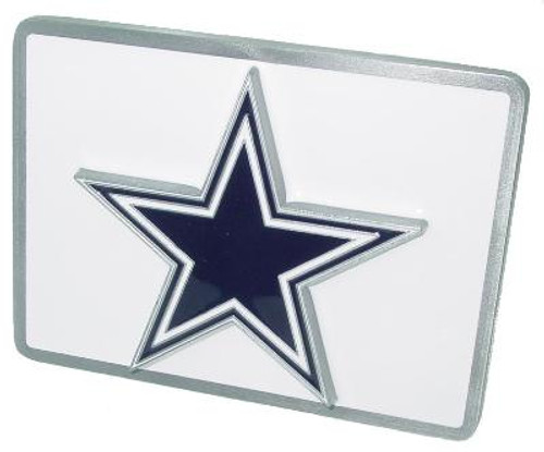 DALLAS COWBOYS NFL TRUCK TRAILER HITCH COVER