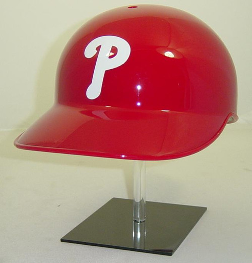 Philadelphia Phillies Rawlings Classic NEC Full Size Baseball Coaches or Cacthers Helmet