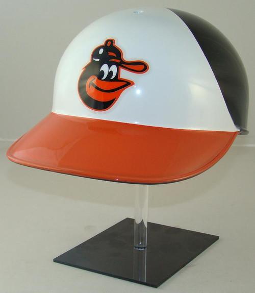 Baltimore Orioles Rawlings Throwback Full Size Baseball Batting Helmet