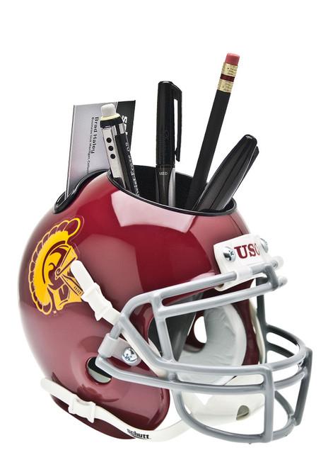 USC Trojans Mini Helmet Desk Caddy by Schutt