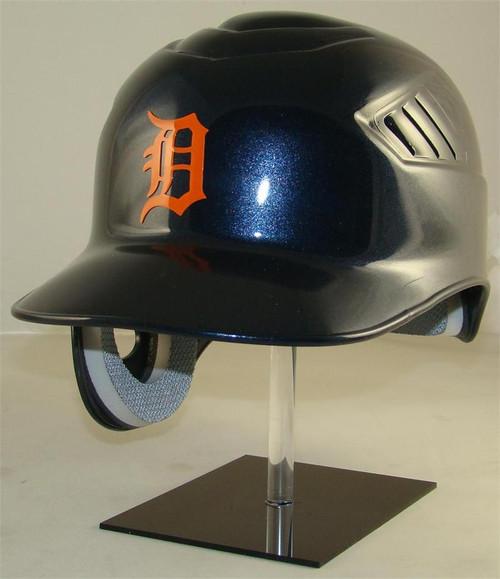 Detroit Tigers (Orange Logo) Road Rawlings Coolflo REC Full Size Baseball Batting Helmet