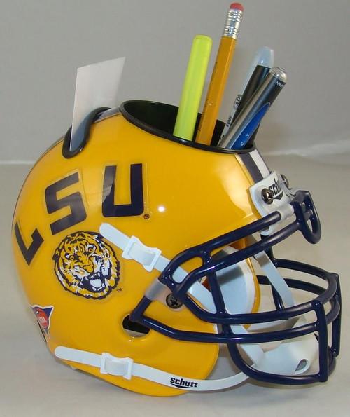 LSU Tigers Mini Helmet Desk Caddy by Schutt