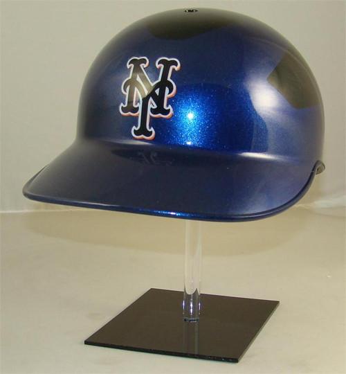 New York Mets Black and Blue Road Rawlings Classic NEC Full Size Baseball Batting Helmet