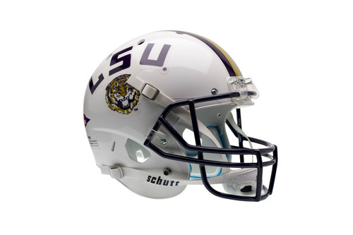 LSU Tigers Alternate White Schutt Full Size Replica XP Football Helmet
