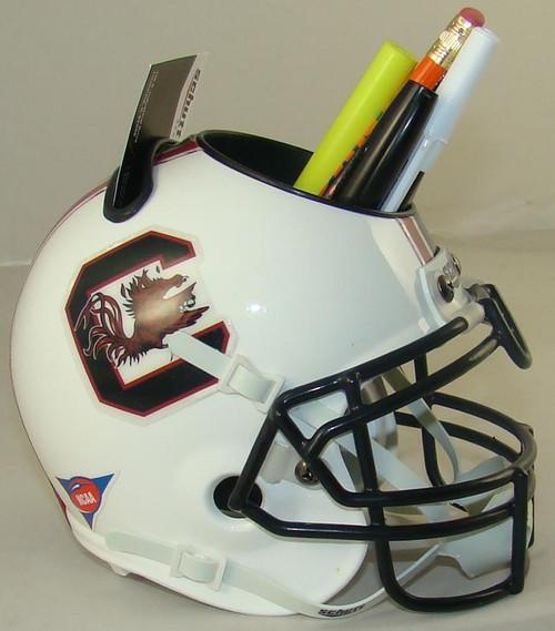 South Carolina Gamecocks Mini Helmet Desk Caddy by Schutt