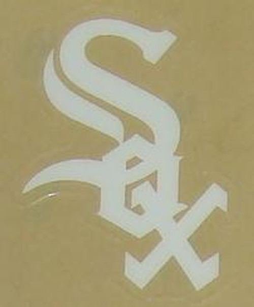 CHICAGO WHITE SOX FULL SIZE HELMET 3M STICKER DECAL