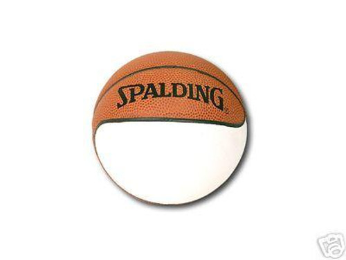 6 NBA Mini One Panel Autograph Basketballs by Spalding