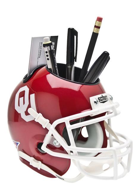 Oklahoma Sooners Mini Helmet Desk Caddy by Schutt