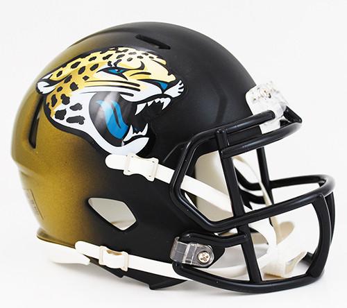 Jacksonville Jaguars Throwback 2013-2017 Revolution SPEED Mini Helmet