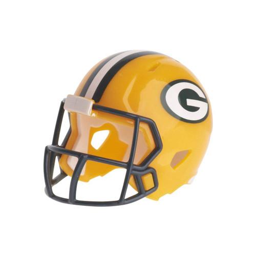 Green Bay Packers Revolution Mini Pocket Pro Helmet