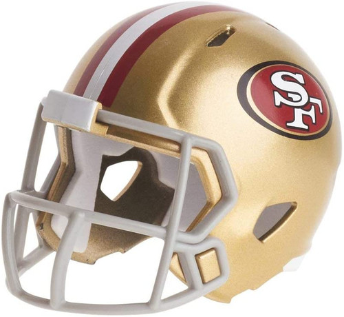 San Francisco 49ers Revolution Mini Pocket Pro Helmet