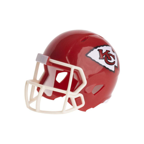 Kansas City Chiefs Revolution Mini Pocket Pro Helmet