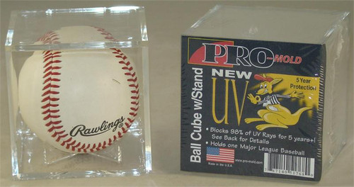 Pro-Mold 5 year UV Protected Baseball Cube (12 PM UV cubes)